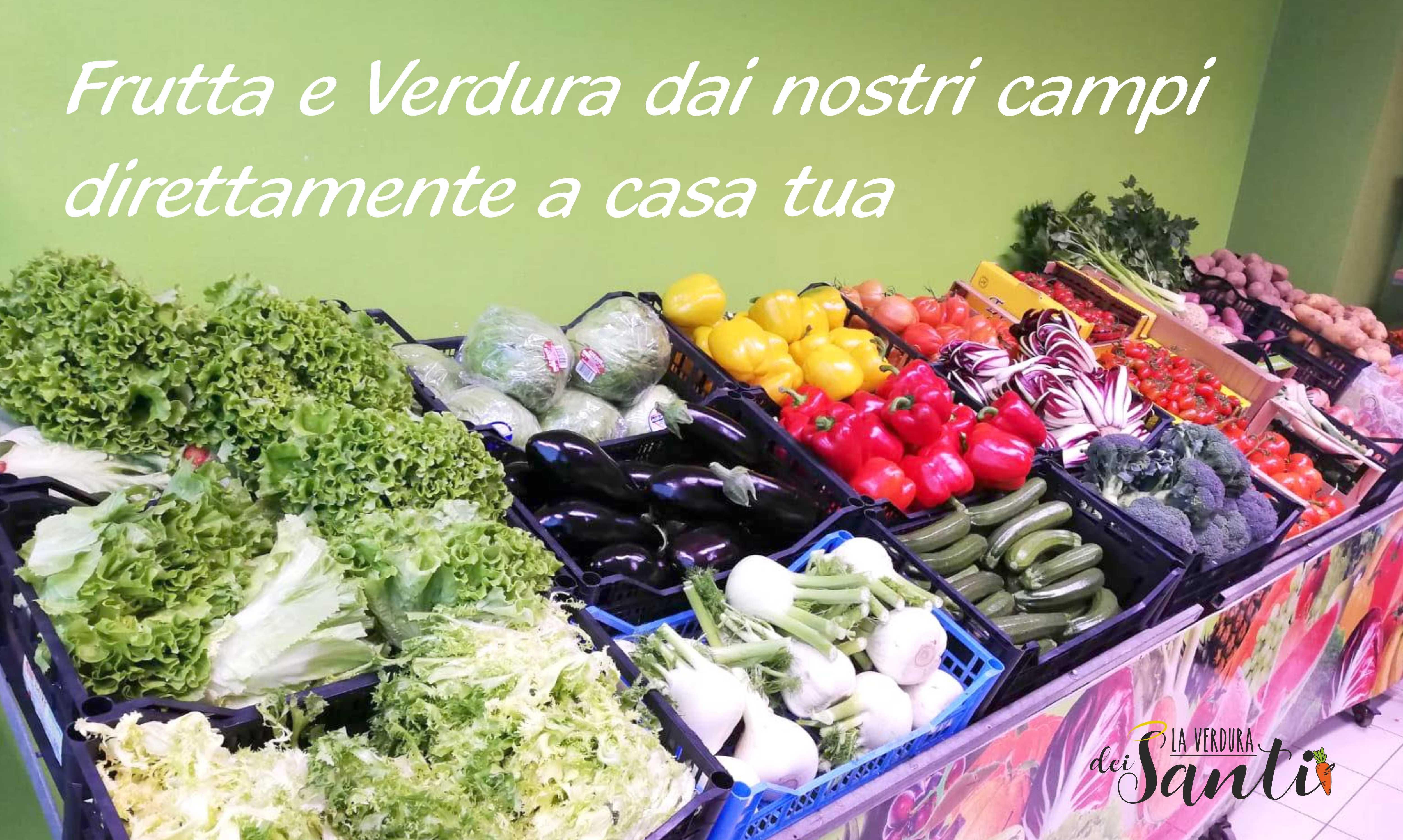 Frutta e Verdura dai nostri campi direttamente a casa tua!