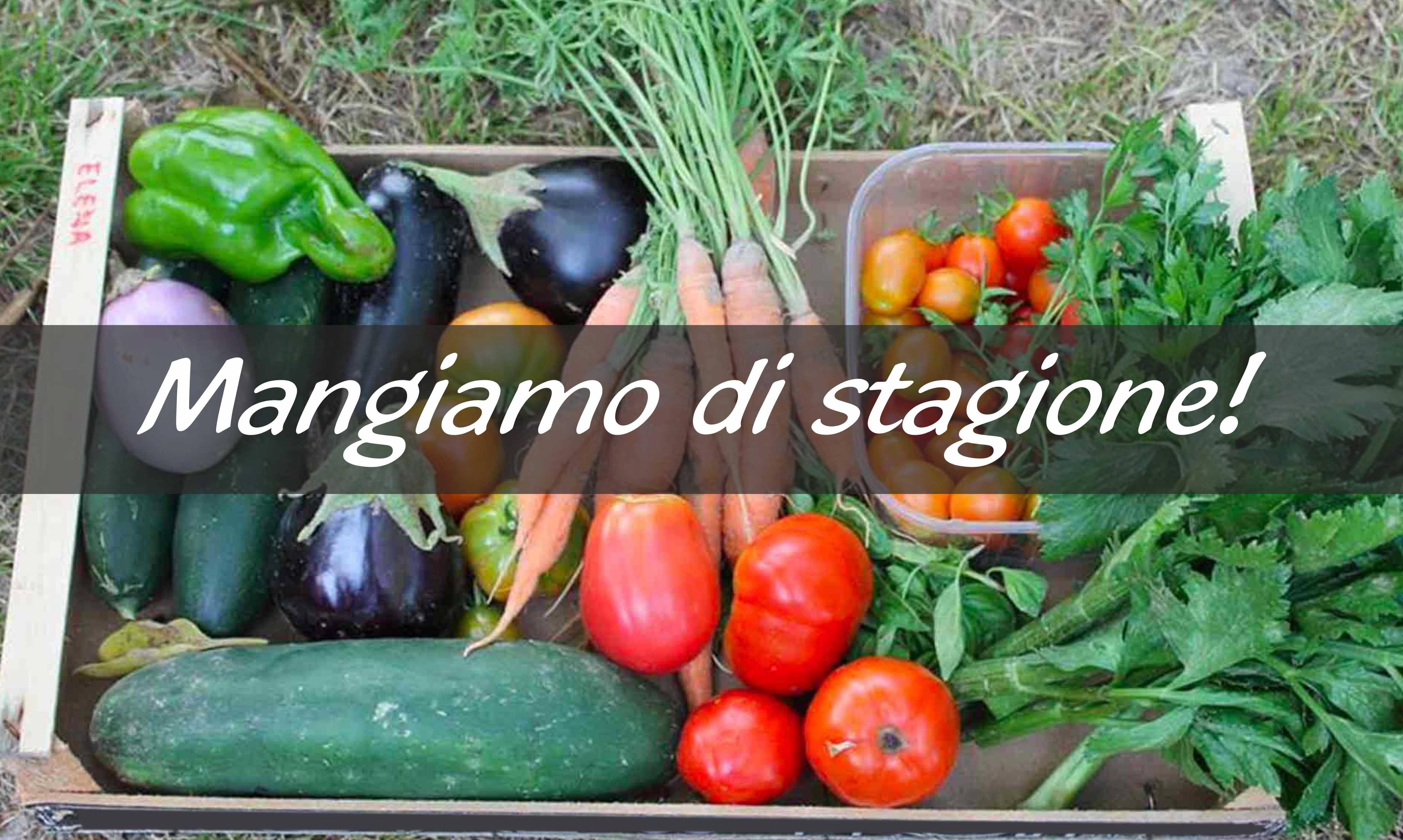 Frutta e verdura stagionali fanno bene all'organismo e al portafoglio!