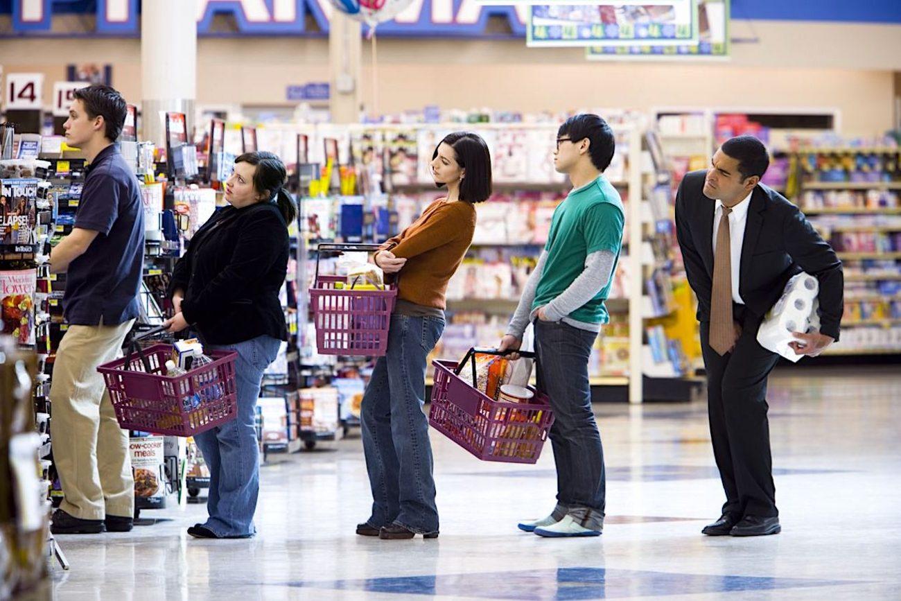 Perché sprecare tempo per fare la spesa?